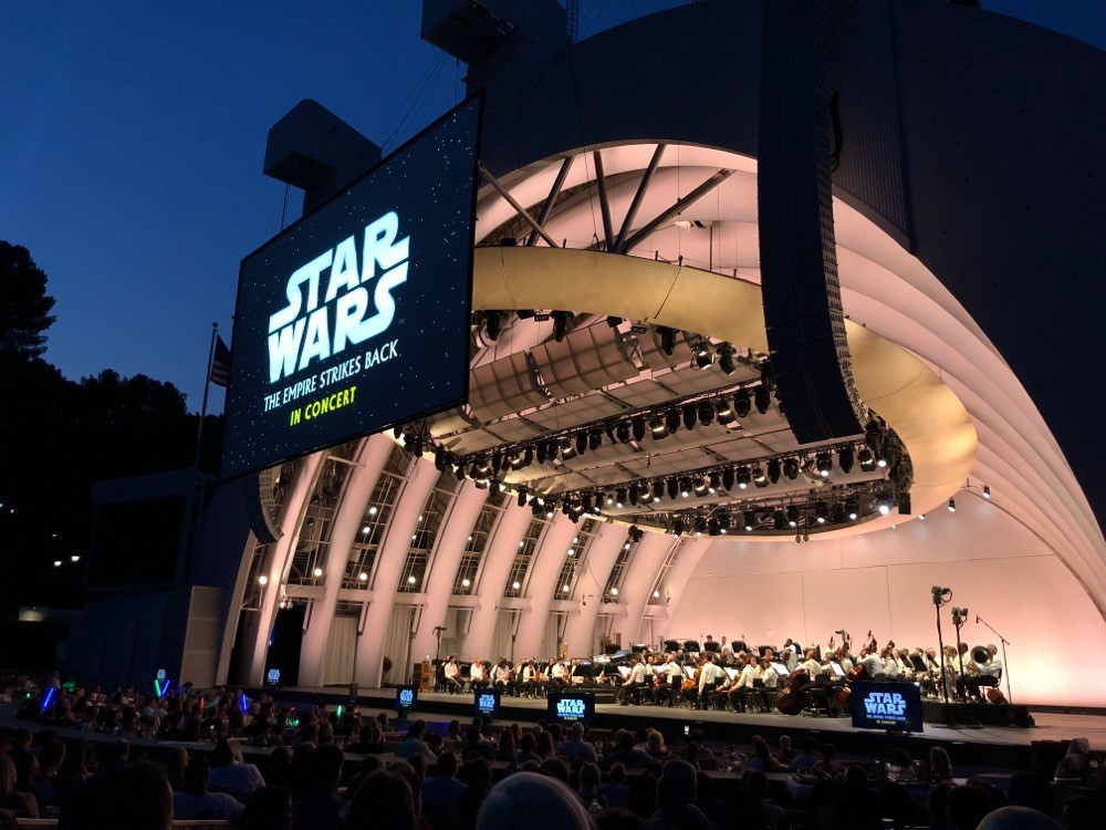 The Empire Strikes Back at The Hollywood Bowl