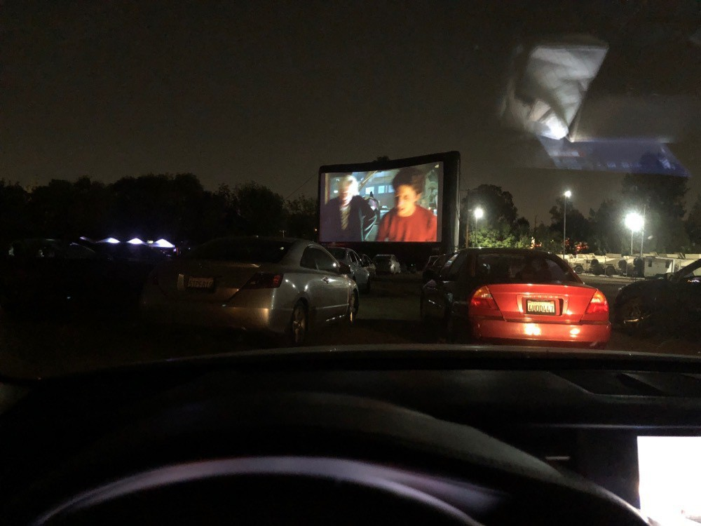 Drive-In Movie with Summer