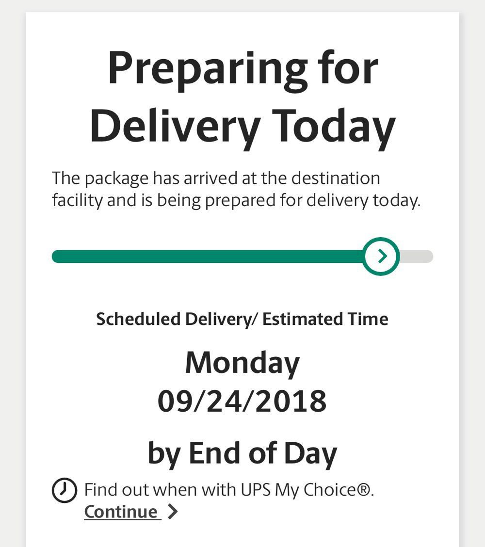iPhone Out for Delivery