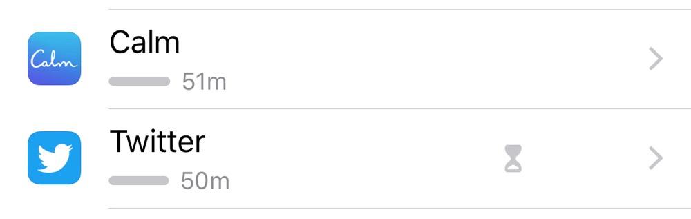 Calm vs. Twitter